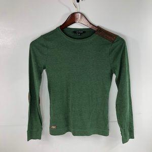 Lauren Ralph Lauren Olive Green Long Sleeve Shirt